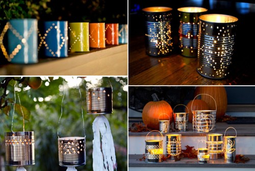 handmade-outdoor-lighting-ideas-tin-cans