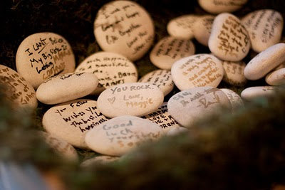 Guest Book Stones